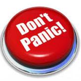 Dont panic – plan!